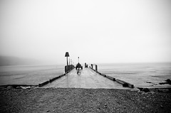 Welcome to Lundy! (Alexandre Moreau | Photography) Tags: uk england blackandwhite pier lundy minimalist lundyisland