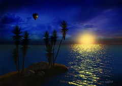 Island Sunset (Roy Mildor) Tags: greatphotographers platinumphoto worldwidelandscapes dragondaggeraward mygearandme mygearandmepremium mygearandmebronze mygearandmesilver mygearandmegold greaterphotographers artistoftheyearlevel3