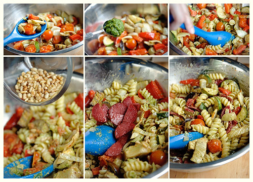 Roasted Veggie Pasta Salad