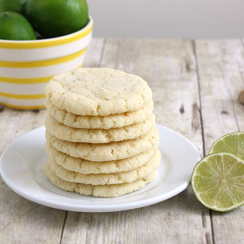 Chewy Coconut-Lime Sugar Cookies | Tracey's Culinary Adventures