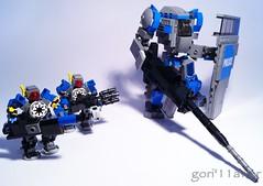 CMI and CMS s (GoRiLLaWeR) Tags: new robot lego police suit combat mech brigade moc gorillawer