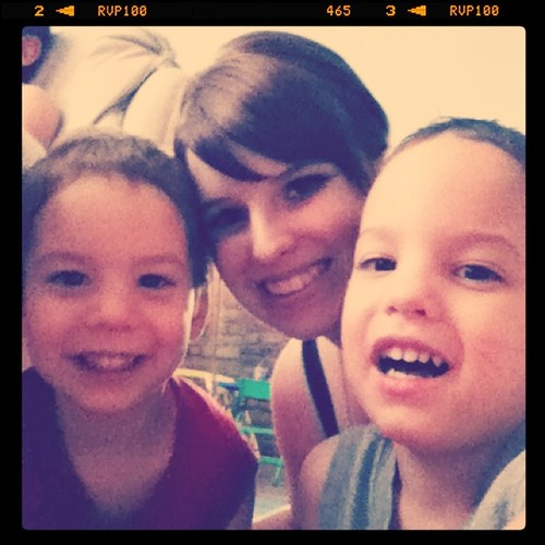 Auntie with her cuties!