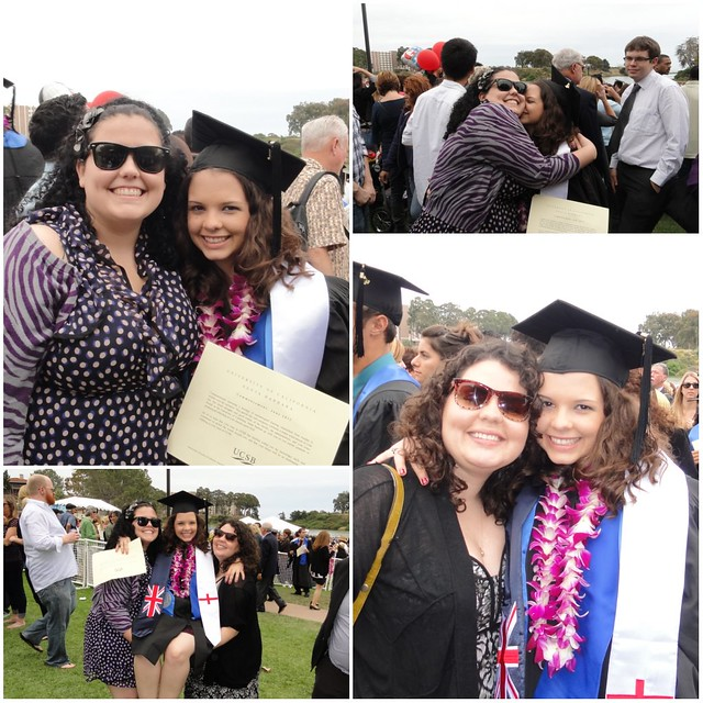 Emily Graduation collage 1 Sisters