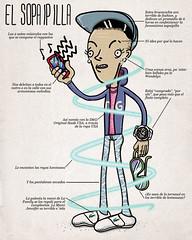 El Sopaipilla (alvarejo®) Tags: ilustracion reggaeton illsutration alvarejo flayte sopaipilla