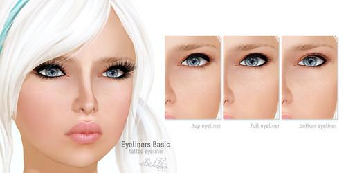 cheLLe - Eyeliners Basic