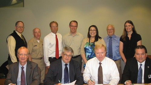 USDA Rural Development in the State of Alaska hosted the official signing of a Memorandum of Understanding (MOU) with Rural Alaska Village grant (RAVG) program partners.