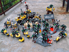 Full mob (Jerac) Tags: lego ork wh40k