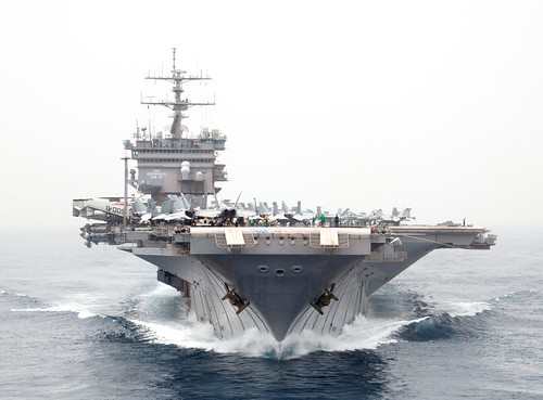 フリー写真素材, 乗り物, 船・船舶, 軍用船, 航空母艦, エンタープライズ (CVN-), アメリカ海軍,