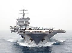 [フリー画像] 乗り物, 船・船舶, 軍用船, 航空母艦, エンタープライズ (CVN-65), アメリカ海軍, 201107012300