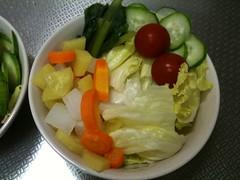 朝食サラダ(2011/6/25)