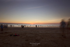 A moment shared (Louise Denton) Tags: sunset holiday motion beach nt australia darwin 365 shared odc mindilbeach odc2