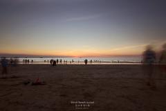 A moment shared (Louise Denton) Tags: sunset holiday motion beach nt australia darwin 365 shared odc mindilbeach odc2