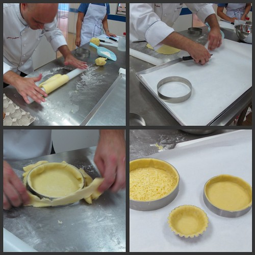 Tart making