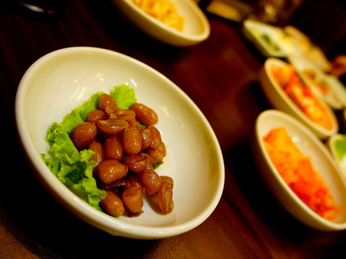 Korean's Marinated Beans
