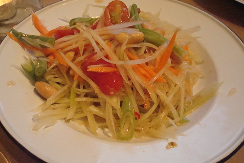 Papaya Salad at Night + Market
