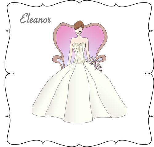 Lea-Ann Belter Eleanor, classic ballgown bridal dress, Lea-Ann Belter Bridal 2011