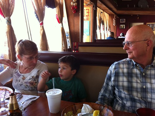 Lunch with Grandma and Grandpa