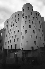 - (_barb_) Tags: blackandwhite film architecture 35mm lomo collingwood australia melbourne lomolca