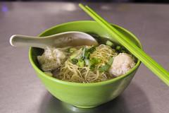 Wonton Noodle Soup fromt Hong Kong (sheryip) Tags: food soup yum chinese hong kong delicious wonton noodle