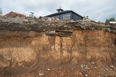 Town Branch and soil horizon (Boyd Shearer) Tags: lexington kentucky unitedstates us