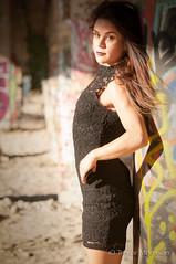 Ashley Pt.18 (tmors) Tags: portrait woman lifestyle editorial desert fashion dress grafiti bridge lines beauty beautiful urban sexy