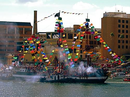 Gasparilla Pirate Festival, Tampa Bay