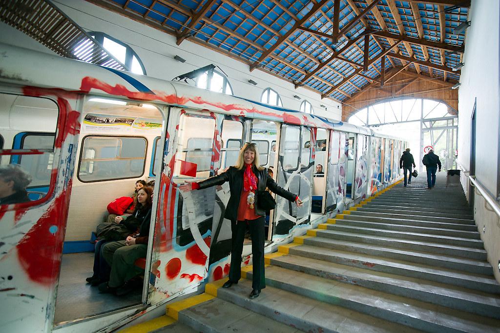 Funnicular To Tibidabo