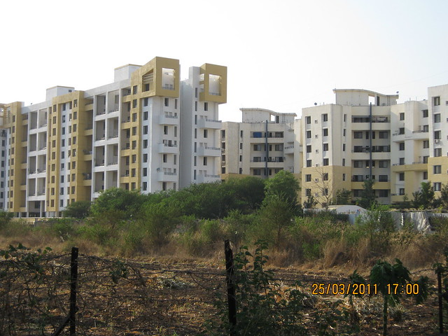 Close up of Prakriti at Balewadi from Prathamesh Park, Balewadi Phata, Baner Pune