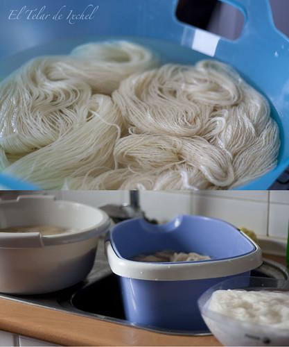 Remojamos la lana