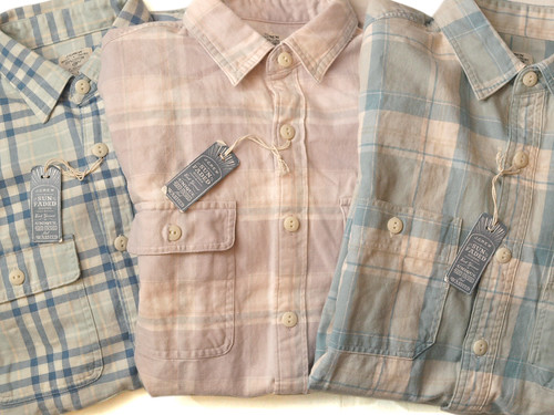 J.Crew / Sunwashed Flannel Shirt