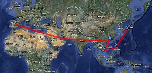 Itinerario 2011