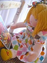 Miss Daisy...2011 (La Mercerie & HuggerMuggerDolls) Tags: waldorfdolls naturaltoys waldorftoys huggermuggerdolls