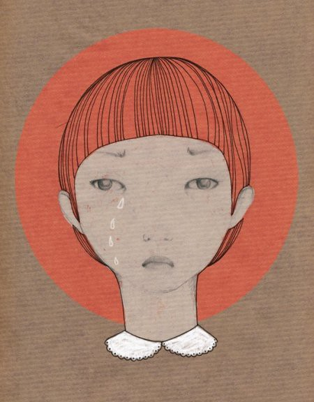 Japan Relief limited edition print-herbstkind-etsy