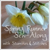 Spring Runner Button