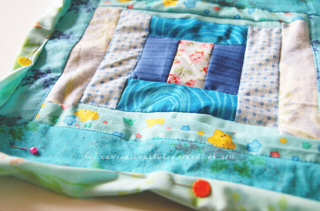 Tutorial: quilt self binding step 5