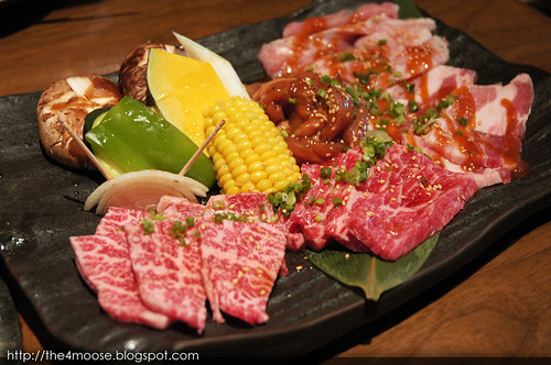 Tajimaya - Assortment of Meat