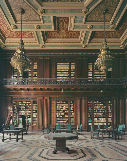 Michael Eastman, Library, Havana