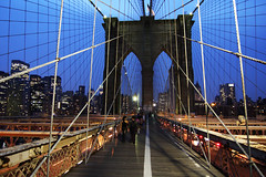 Brooklyn Bridge at dusk (rasputtinstash1) Tags: bridge brooklyn lens tokina ii if pro 1224mm dx the blinkagain bestofblinkwinners