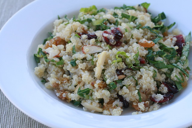 Quinoa, Fruit and Nut Salad - French Fridays with Dorie