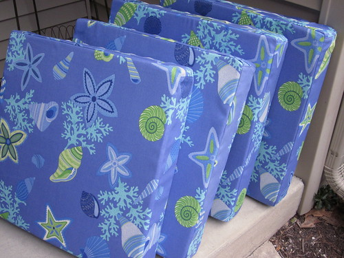seat cushions front
