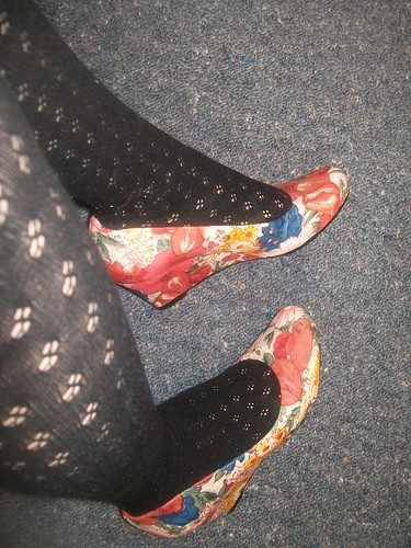 Floral wedges in action