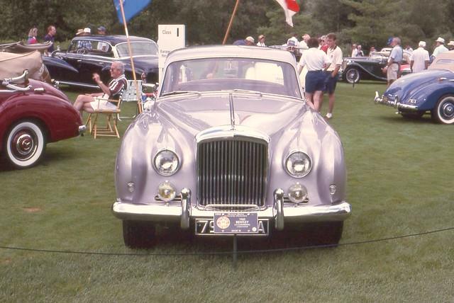 meadowbrookconcours1995 1960bentleys2continentalflyingspur4door ©richardspiegelmancarphoto