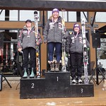 Miele Panorama Spring Series - Ladies Giant Slalom #1 - Overall Podium PHOTO CREDIT: Gregor Druzina