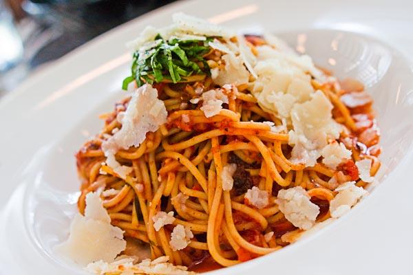 Spicy Albondigas & Spaghettini