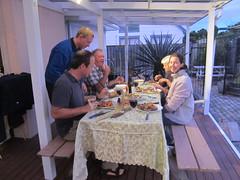 Food is out, let's eat! (AllieMark) Tags: newzealand nz hawkesbay wwwalliemarkcom