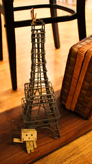 Hello from Paris (Jelowish) Tags: wood tower toys box eiffel gifts danbo danboard