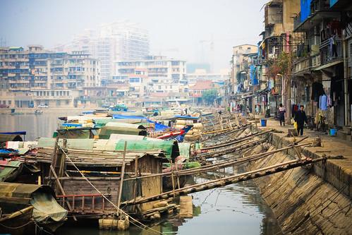 フリー写真素材, 建築・建造物, 都市・街, 乗り物, 船・船舶, 街角, 中華人民共和国,