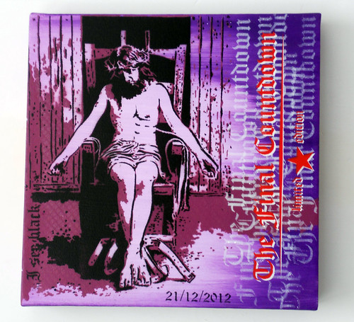 ★21/12/2012★ THE FINAL COUNTDOWN ☆Limited Edition☆ by STENCILNOIRE