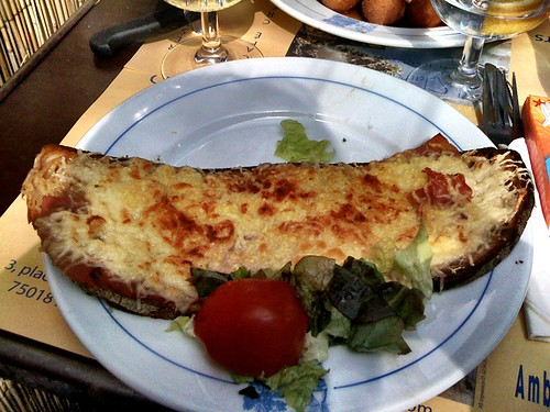 <span>parigi</span>Croquet-monsieur<br><br>Ottimo!<p class='tag'>tag:<br/>luoghi | viaggio | cibo | </p>
