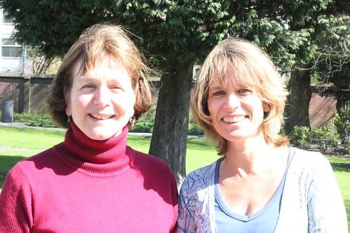 Corian Huhenholtz-Sasse and Rinske van Noortwijk